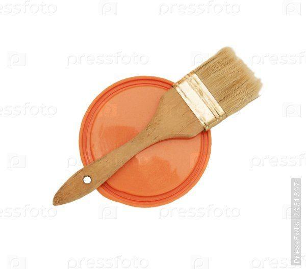 Капроновая крышка может защитить вас от капель краски.