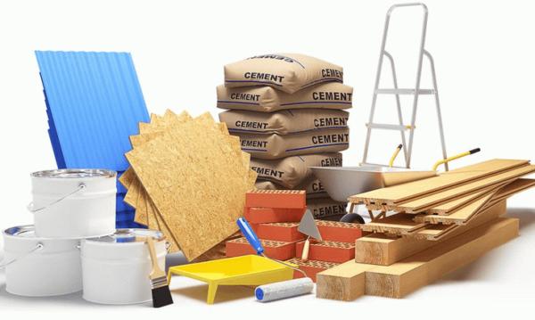 Стройматериалы – необходимый ресурс для ремонта.
