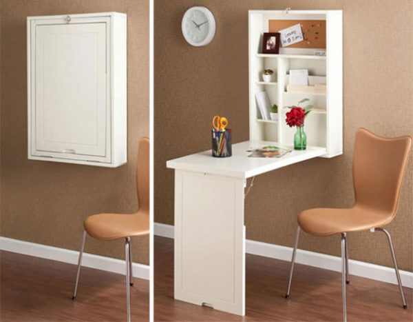 Подобный стол можно разместить на кухне.