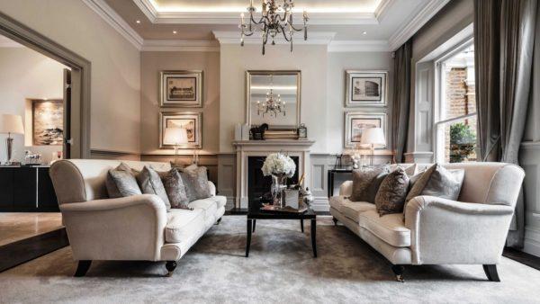Светлая, просторная комната в традиционном стиле наилучшим образом подойдет Козерогу.