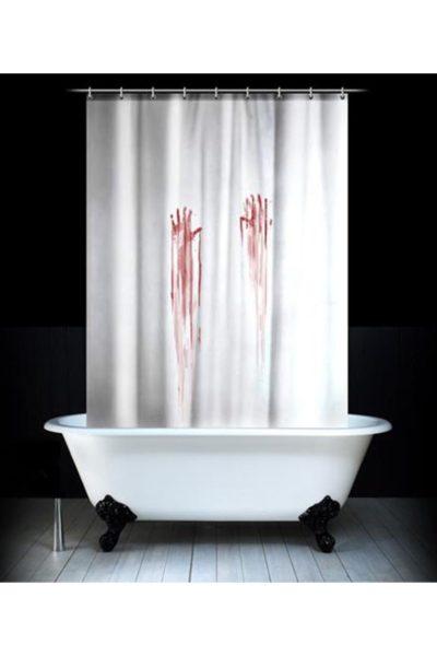 Любители ужасов оценят «Кровавую» занавеску.