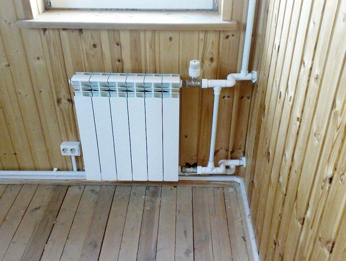 Как подсоединить полипропиленовые к радиатору отопления