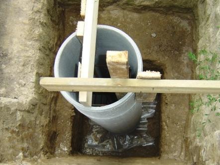 Фундамент на трубах из асбеста