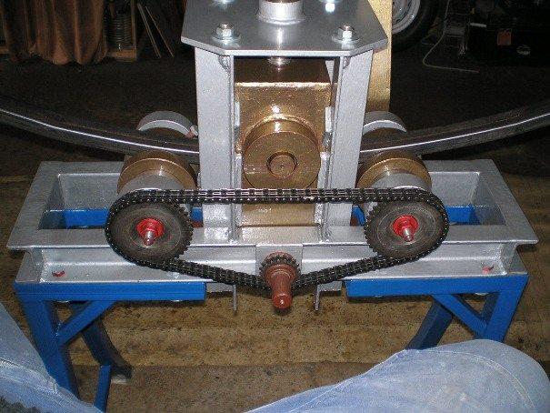 гибочный станок для профильной трубы