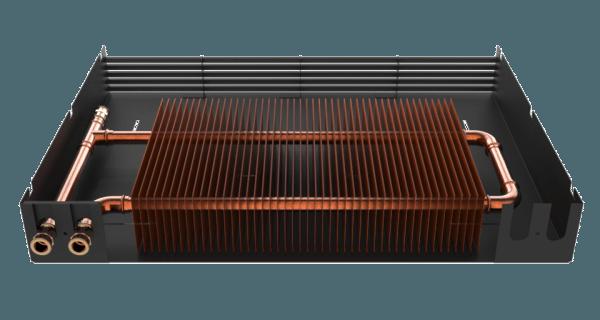 Использование цветных металлов позволяет в разы повысить КПД обогревателей