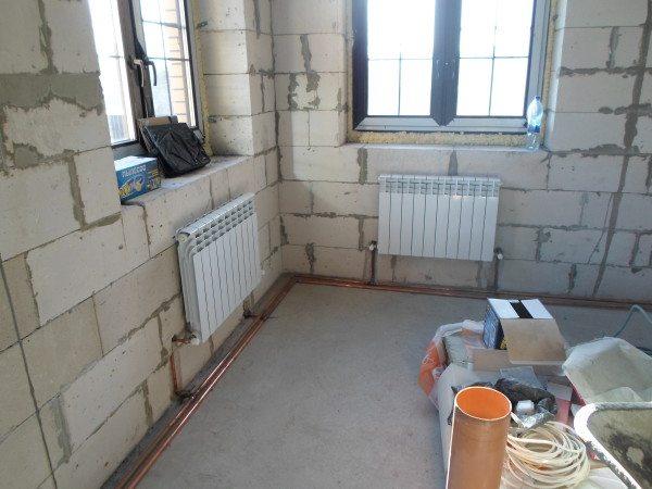 Количество точек обогрева должно соответствовать объему помещения