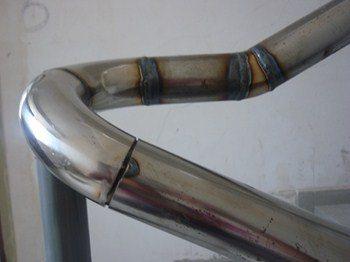 монтаж труб из нержавейки