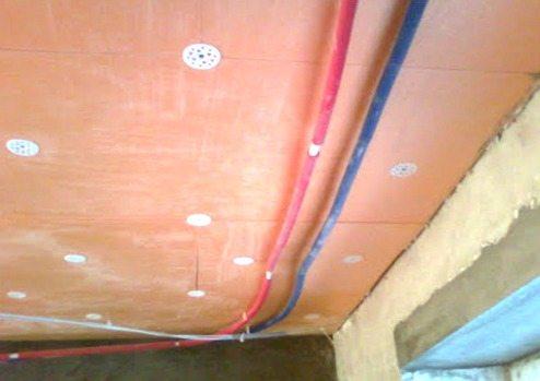 натяжные потолки обвод трубы