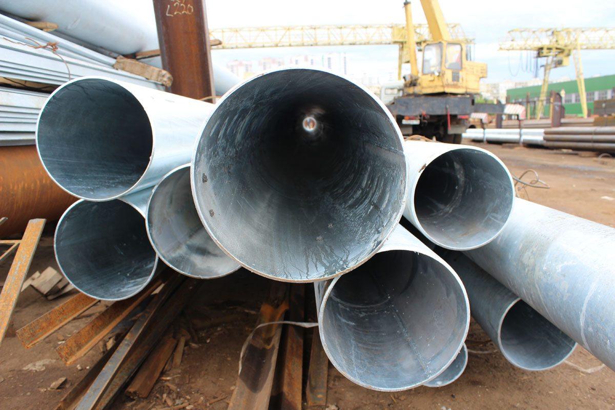 оцинкованные стальные трубы