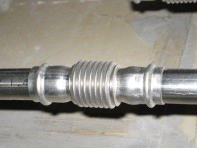 Один из вариантов монтажа труб из нержавейки