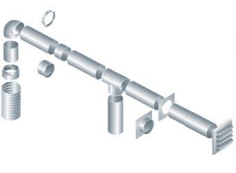 пластиковые вентиляционные трубы