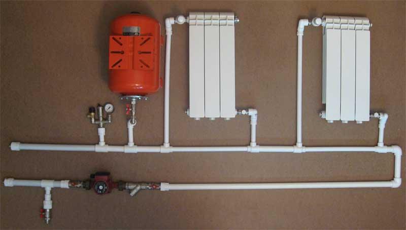 Отопление полипропиленовыми трубами своими руками фото