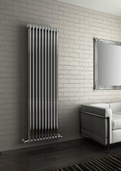 Привлекательный дизайн водяных радиаторов отопления этого типа часто компенсирует их невысокую теплоотдачу.