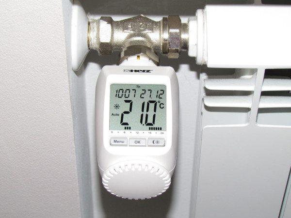 Программируемая электронная термоголовка.