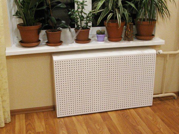 Простая сетка для радиатора отопления