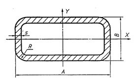 прямоугольная труба стальная