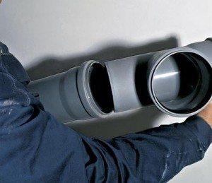 ПВХ труба для наружной канализации