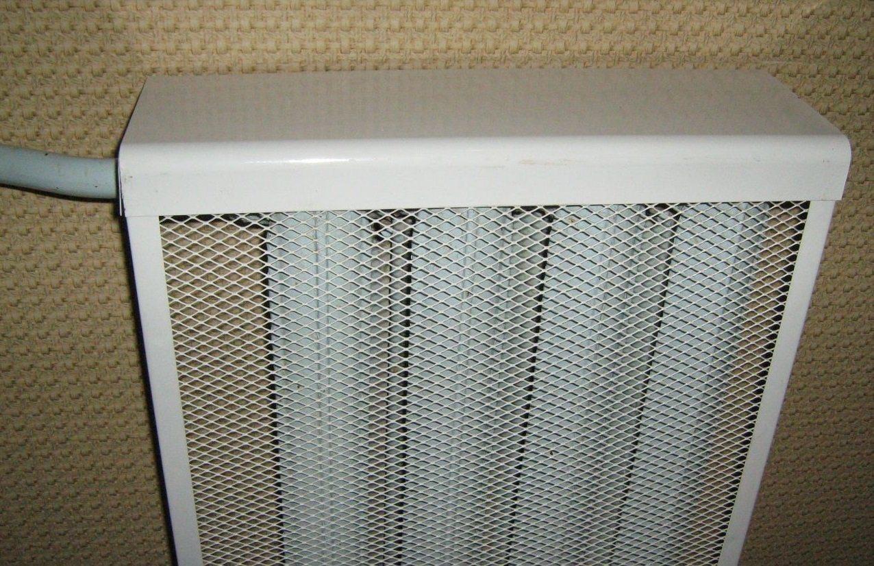 Радиаторную сетку несложно держать в чистоте