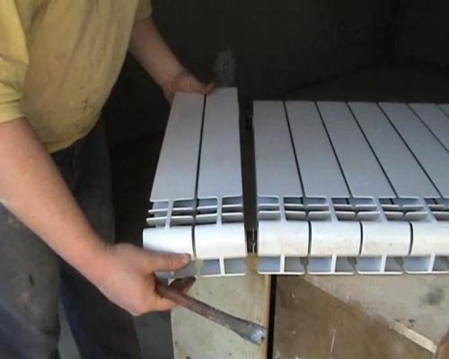 Разборка радиатора отопления своими руками