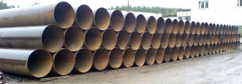 размеры труб стальных