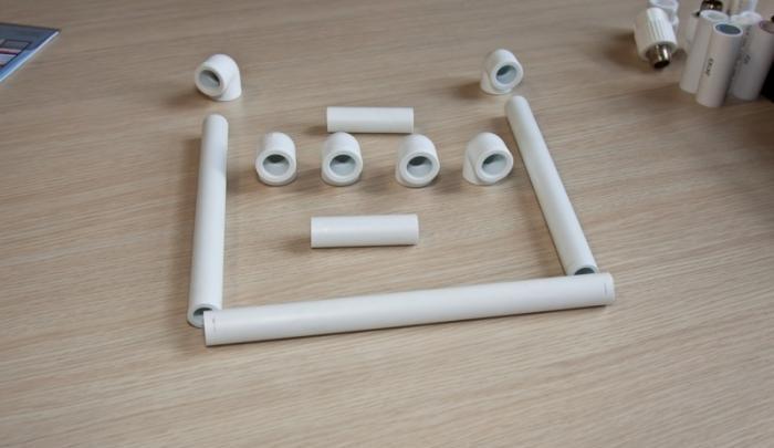 самоделки из пластиковых труб