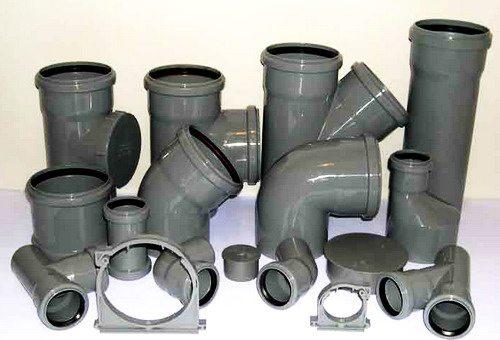 сантехнические трубы пвх