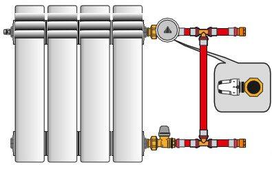 Схема правильного размещения устройства