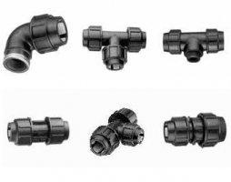 Стандартные соединительные системы для пластмассовых труб небольшого давления