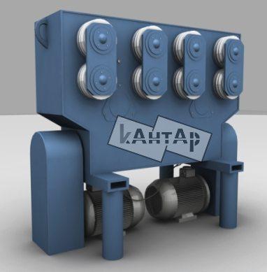 станок для производства профильной трубы