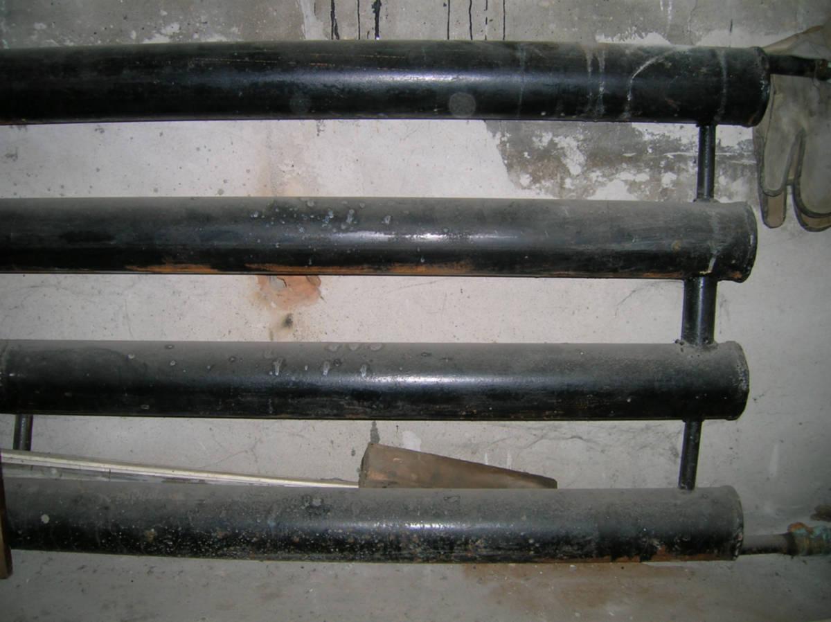 теплоотдача стальной трубы