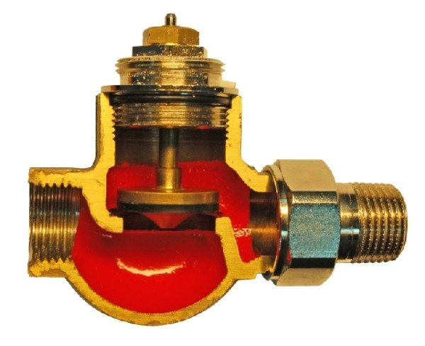 Термостатический клапан.