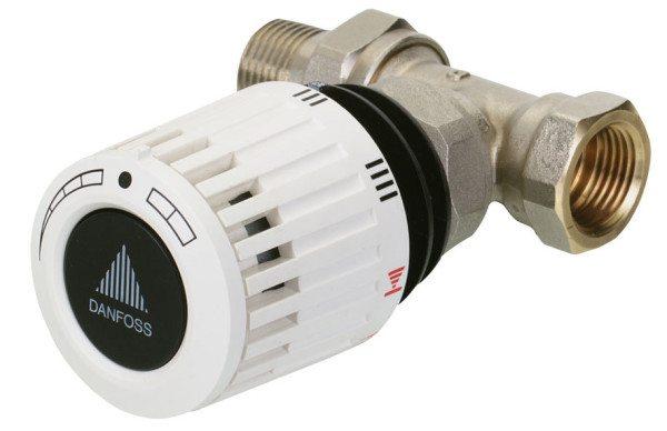 Термостатический комплект от Danfoss - одного из лидеров рынка арматуры.
