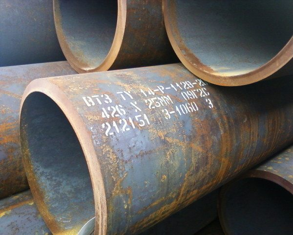 труба толстостенная стальная
