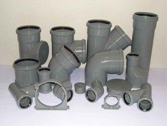 Трубы из ПВХ, предназначенные для изготовления канализации, вентиляции или ливневых устройств