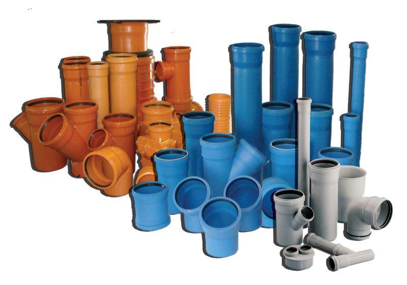 трубы пластиковые для канализации