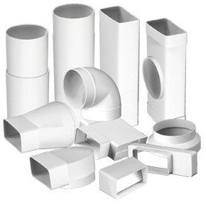 трубы пластиковые для вентиляции