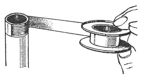 Уплотнительная лента для резьбовых соединений