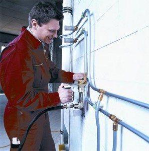 установка полипропиленовых труб