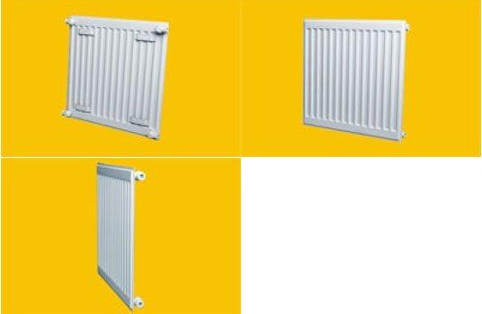 Радиаторы отопления плоские тонкие