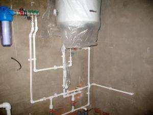 водопровод из пластиковых труб