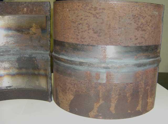 высококачественный сварной шов металлических труб