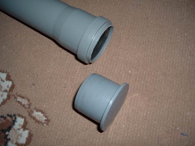 заглушка пластиковая для труб